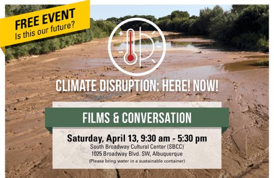 Climate disruption – film & conversation