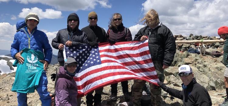 Sierra Club Military Outdoors Program – Fall 2019 outings