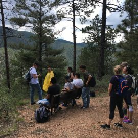 July hike with Santa Fe Youth Shelters
