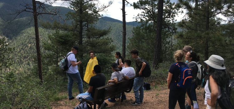 October hike with Santa Fe Youth Shelters