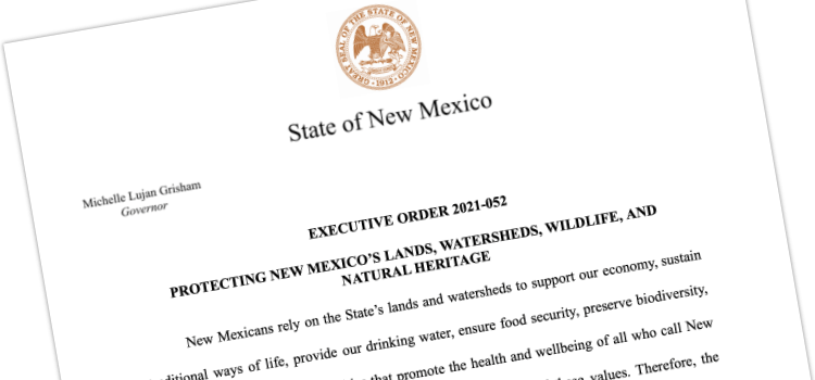 Broad Coalition of New Mexicans Praise Governor's New Executive Order to Protect 30% of Lands and Waters by 2030