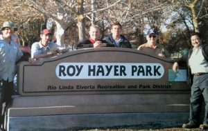 Erwin Hayer at Roy Hayer Park.