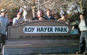 Erwin Hayer at Roy Hayer Park.