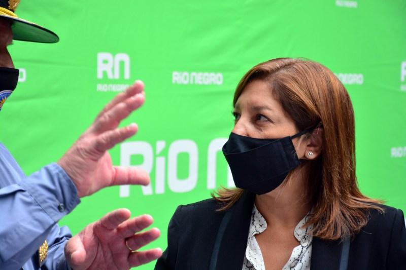 """Arabela Carreras: """"No quiero el mensaje del miedo, quiero el mensaje de la responsabilidad"""""""