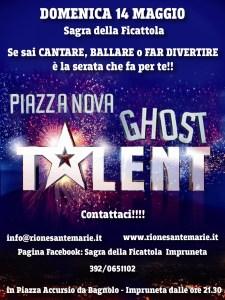 piazza nova ghost talent