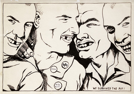 When Punk Grows Up: Raymond Pettibon At The New Museum