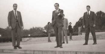 An Intimate Encounter With Richard Nixon