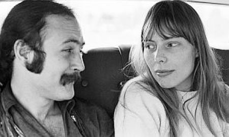 Joni Mitchell and David Crosby. A review of Mitchell's new biography, with key songs to listen to, is at Riot Material, LA's premier magazine for art and sound.