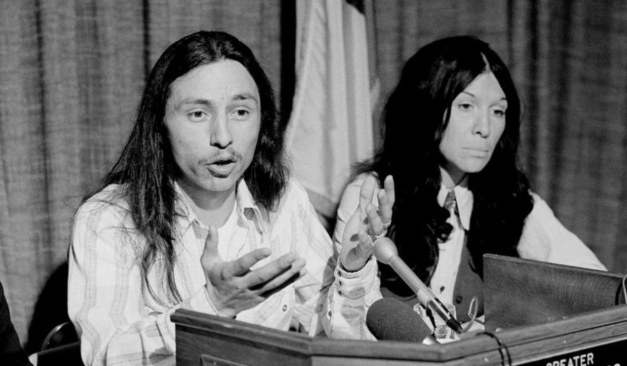 John Trudell and Buffy St. Marie