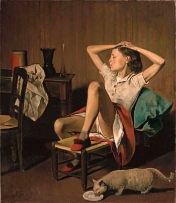 Balthus, Thérèse Dreaming, 1938