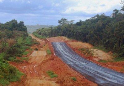 Road through the Amazon