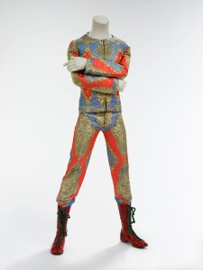 David Bowie, Quilted two-piece suit, 1972