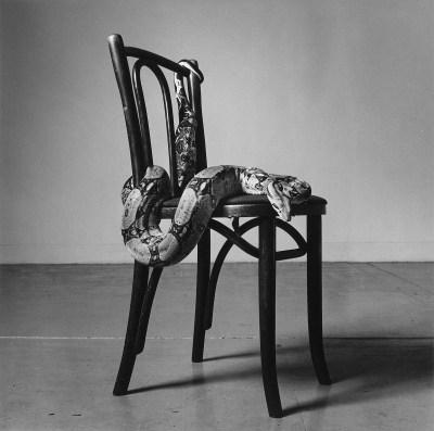 Peter Hujar: Skippy on a Chair (1), 1985