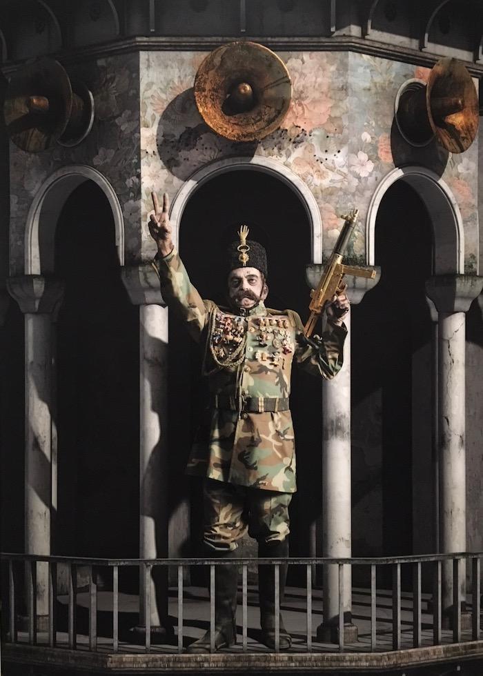 Siamak Shan, Return From Europe, from his Underground series
