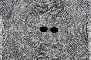 Jack Whitten: Self Portrait with Satellites