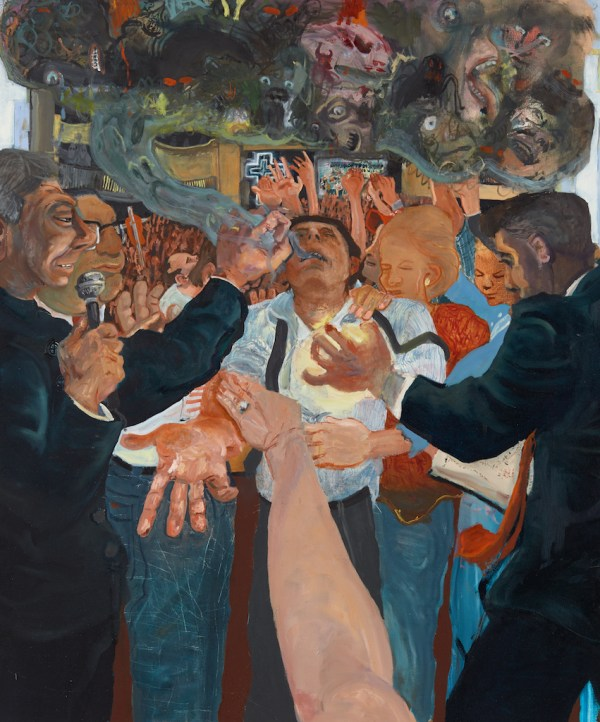 Celeste Dupuy-Spencer, Through the Laying of the Hands (Positively Demonic Dynamism)