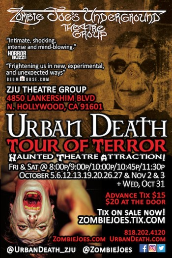 Urban Death at Zombie Joes Underground Theater, North Hollywood