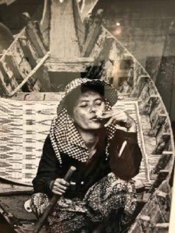 """L. Aviva Diamond, """"Smoking Woman"""""""