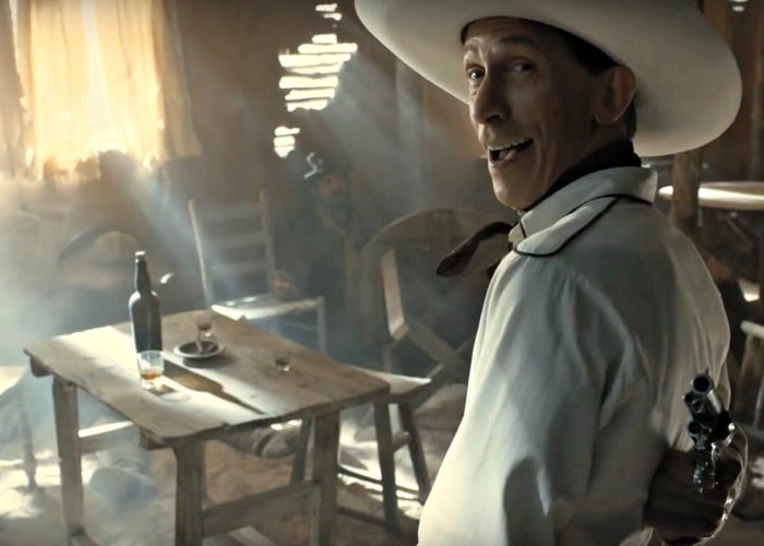 Tim Blake Nelson in The Coen Brothers' The Ballad of Buster Scruggs