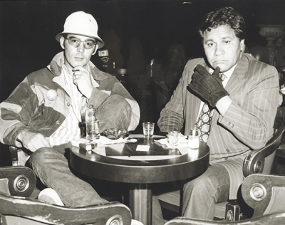 Hunter S. Thompson and Oscar Acosta
