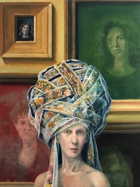 Julie Heffernan: Self-Portrait with Anna, Kathe, Liz and Barbara