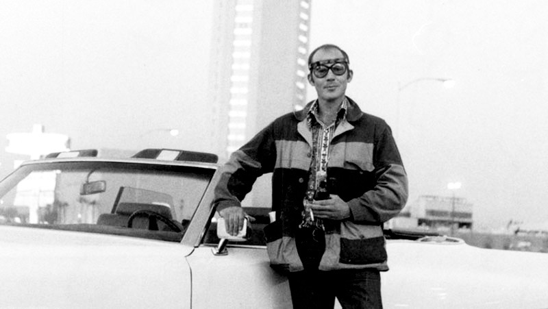 Hunter S. Thompson, to Vegas