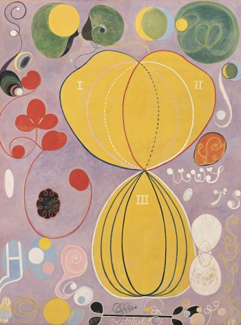 Hilma af Klint, at The Guggenheim Museum, NYC