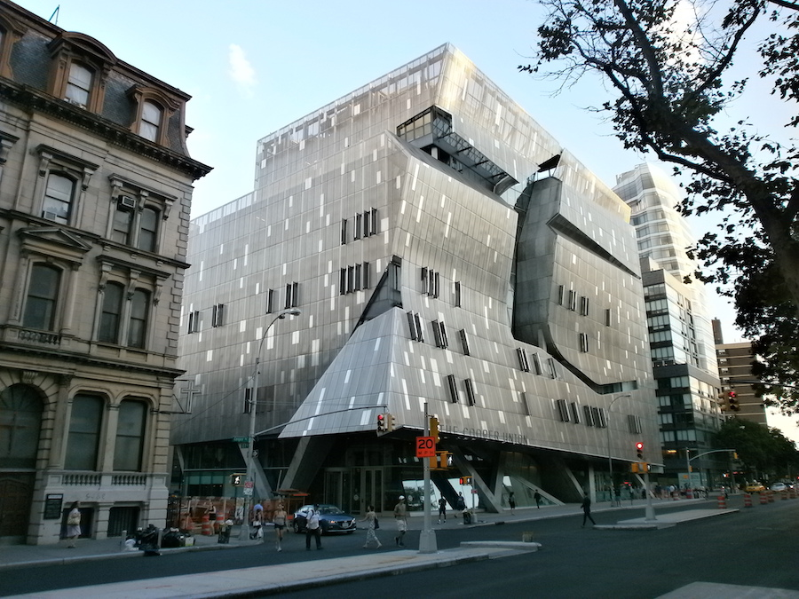 The architectural blight of Cooper Union, NYC