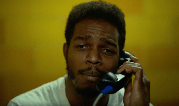 Stephan James in If Beale Street Could Talk, reviewed at Riot Material magazine