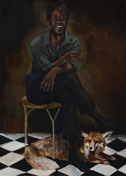 Lynette Yiadom-Boakye's In Lieu of A Louder Love reviewed at Riot Material magazine