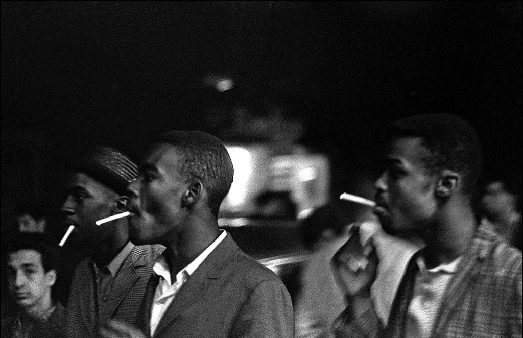 Al Fennar, Rhythmic Cigarettes, Greenwich Village , New York, 1964