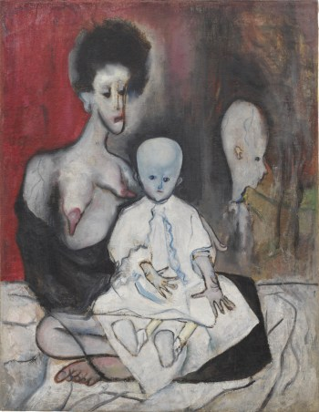 Degenerate Madonna, 1930. Alice Neel: Freedom, reviewed at Riot Material Magazine.