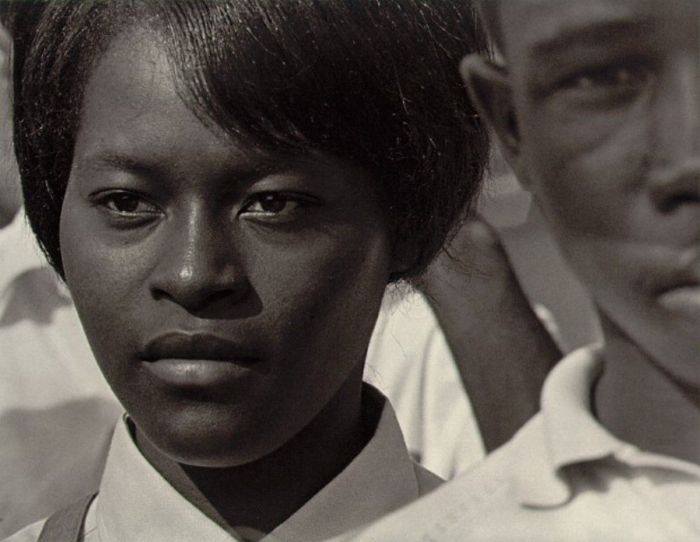 Roy DeCarava's Mississippi freedom marcher, Washington, DC, 1963