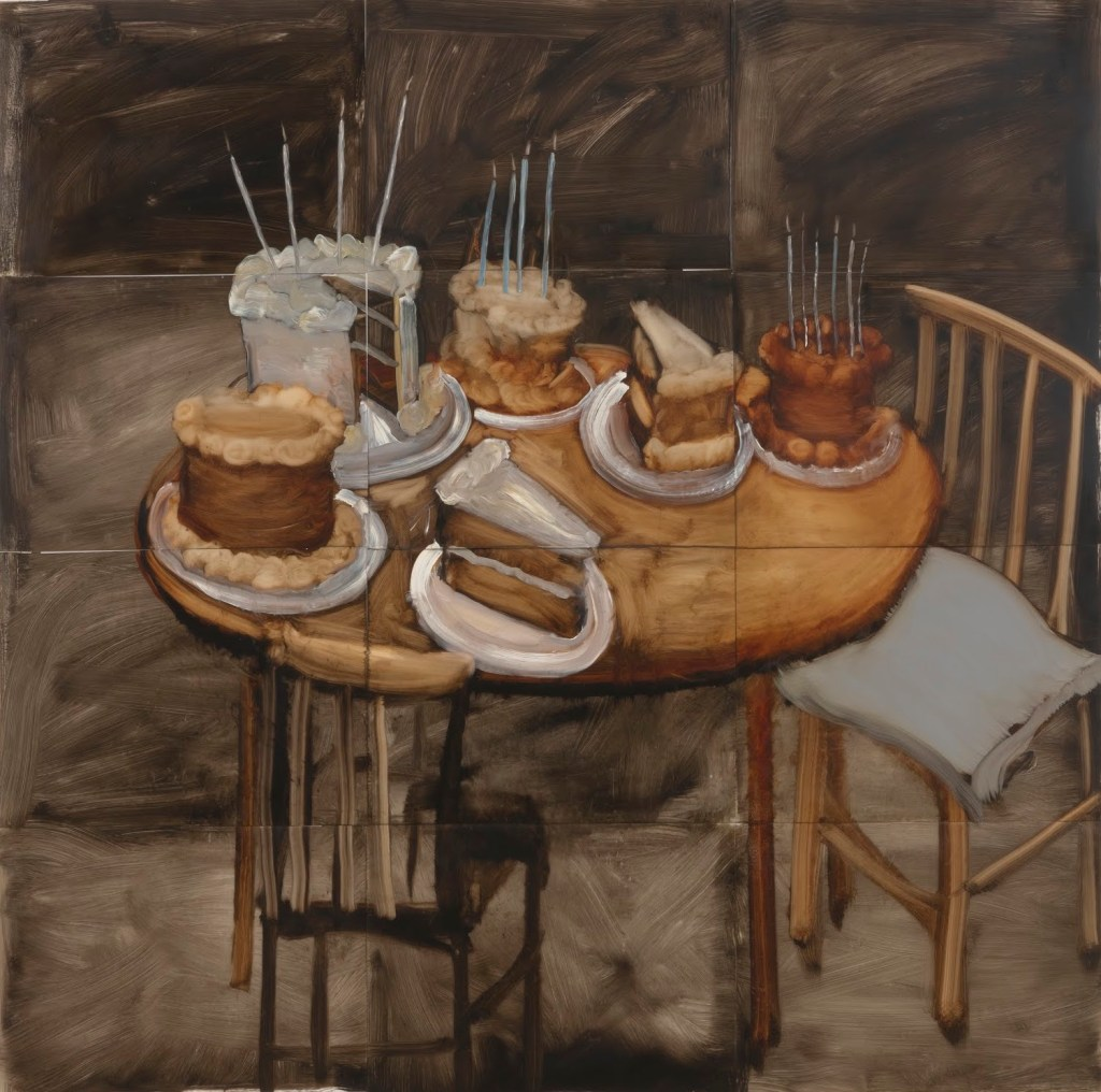 Kim Dingle:I Will Be Your Server (The Lost Supper Paintings), reviewed at Riot Material Magazine