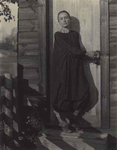 """Alfred Stieglitz, """"Georgia O'Keeffe,"""" 1920. Riot Material, LA's premier art magazine."""