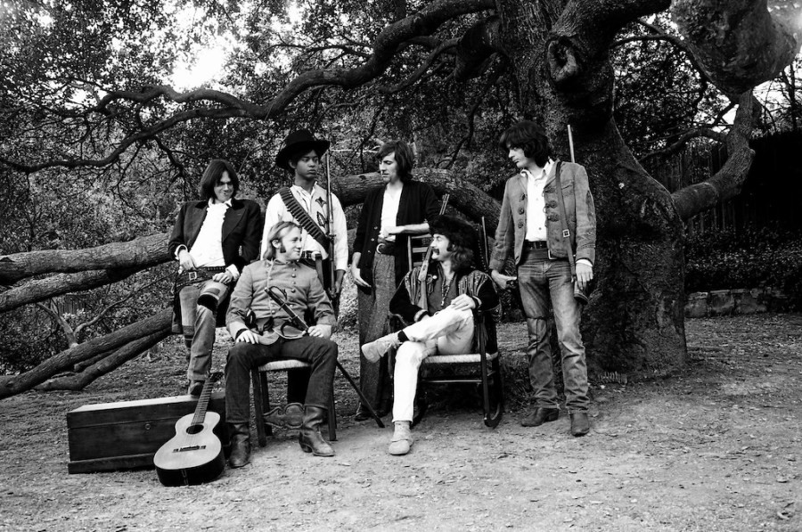 Crosby, Stills, Nash, and Young, with Dallas Taylor and Greg Reeves. An interview with Crosby is at Riot Material magazine.