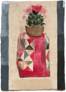 Morris Graves, Bhutan's Isolation, Tashich Hodzong. A review of Graves's current exhibition is at Riot Material, LA's premier art magazine.