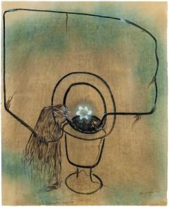 Morris Graves, Haunted Bouquet. A review of Graves's current exhibition is at Riot Material, LA's premier art magazine.
