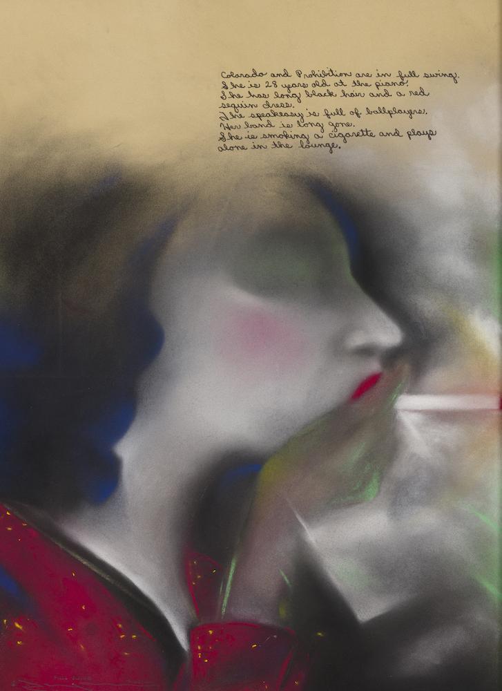 Terry Allen's Full Swing (Dugout Set IV, #3), at Riot Material, LA's premier art magazine.
