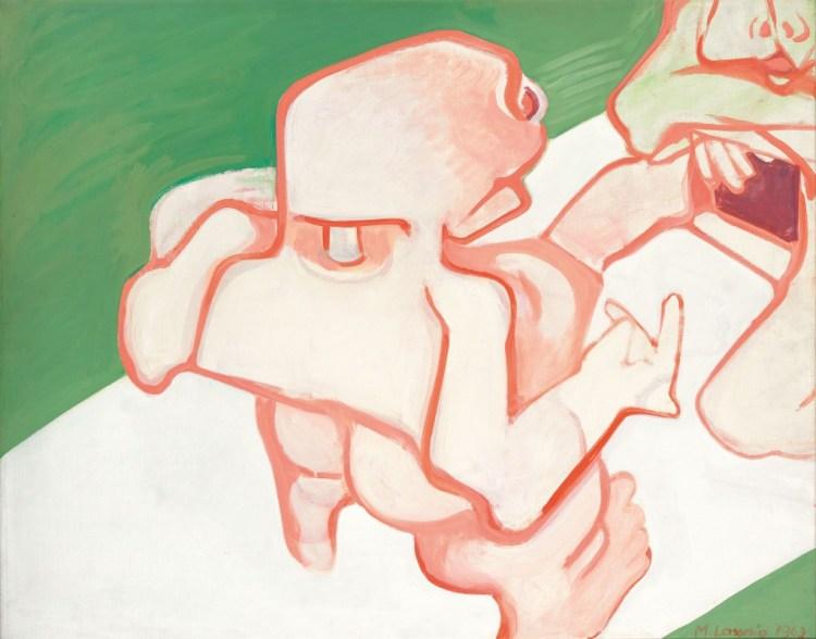 Maria Lassnig's Gynecology. At Riot Material, LA's premier magazine for art.