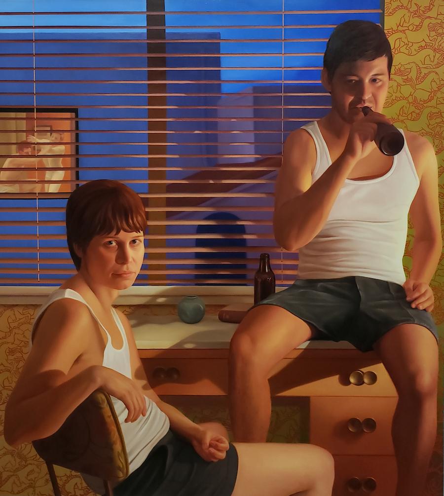 Gemini. Laura Krifka's latest exhibition at Luis De Jesus is reviewed at Riot Material, LA's premier art magazine.