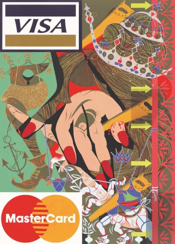 Lari Pittman, Untitled #16 (A Decorated Chronology of Insistence and Resignation), 1993