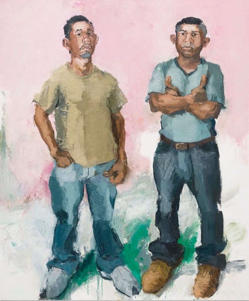 "John Sonsini ""Francisco & Raul,"" 2009. Reviewed at Riot Material magazine."