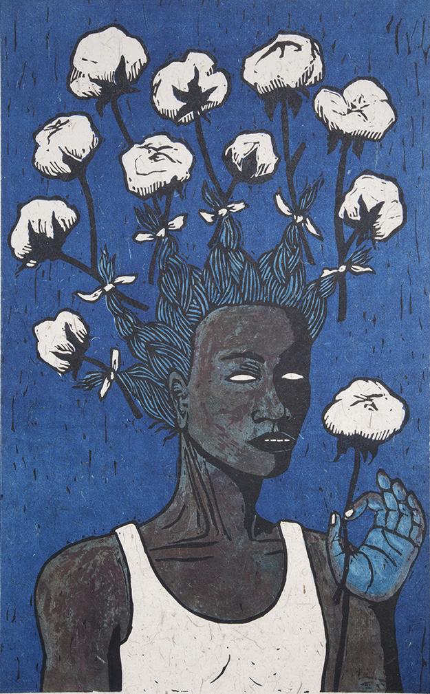 Alison Saar, High Cotton II, 2018
