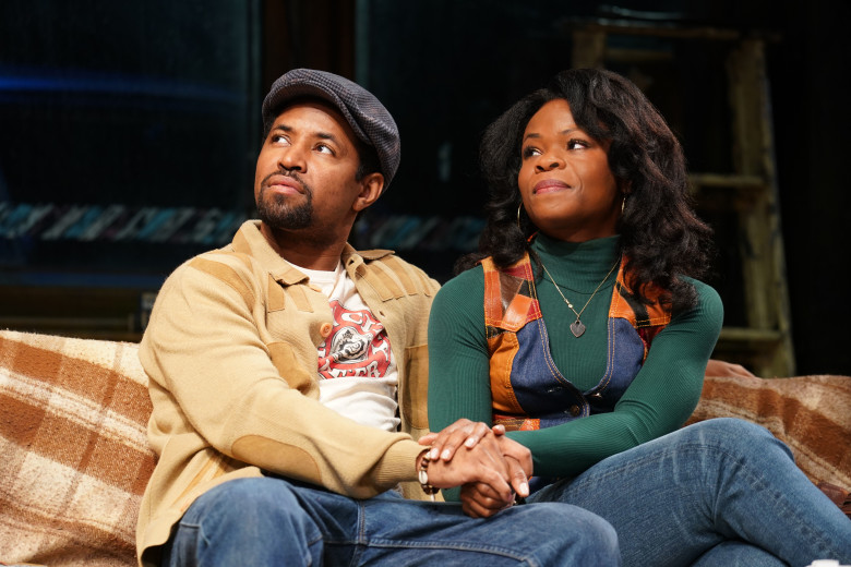 "Amari Cheatom and Nija Okoro in August Wilson's ""Jitney"""