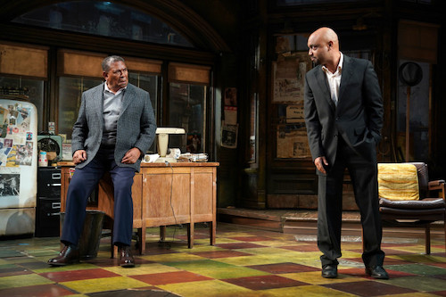 Steven Anthony Jones and Francois Battiste in August Wilson's Jitney