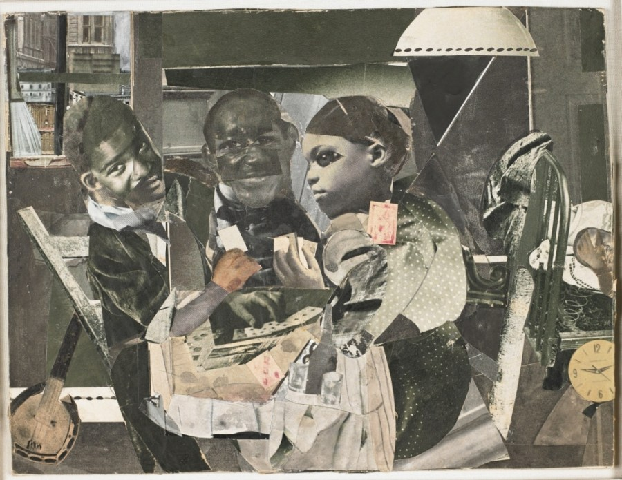 "Romare Bearden's Evening 9:10, 461 Lenox Avenue, 1964. Two books on Romare Bearden, ""An American Odyssey: The Life and Work of Romare Bearden"" and ""The Romare Bearden Reader"" are reviewed at Riot Material Magazine"