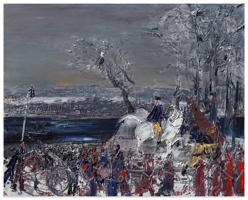 John Bradford, Washington Crossing the Delaware