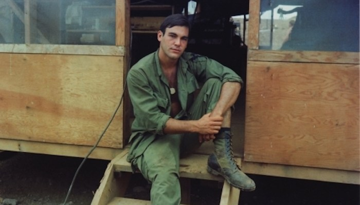 Oliver Stone in Vietnam. A review of his new book, Chasing the Light, is at Riot Material