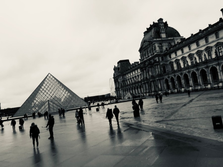 the Louvre, plus musings on the new MoMA